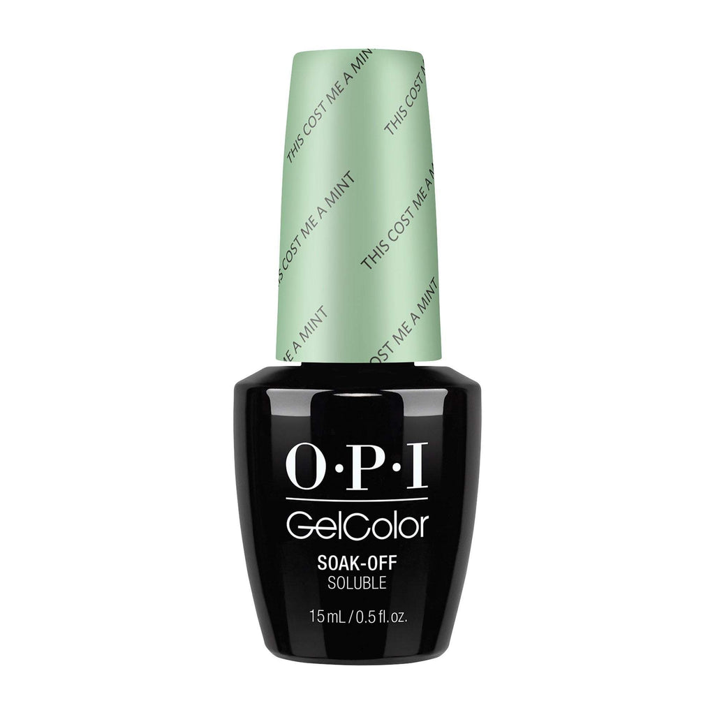 Gel Lacquer OPI This Cost Me a Thin Mint GelColor
