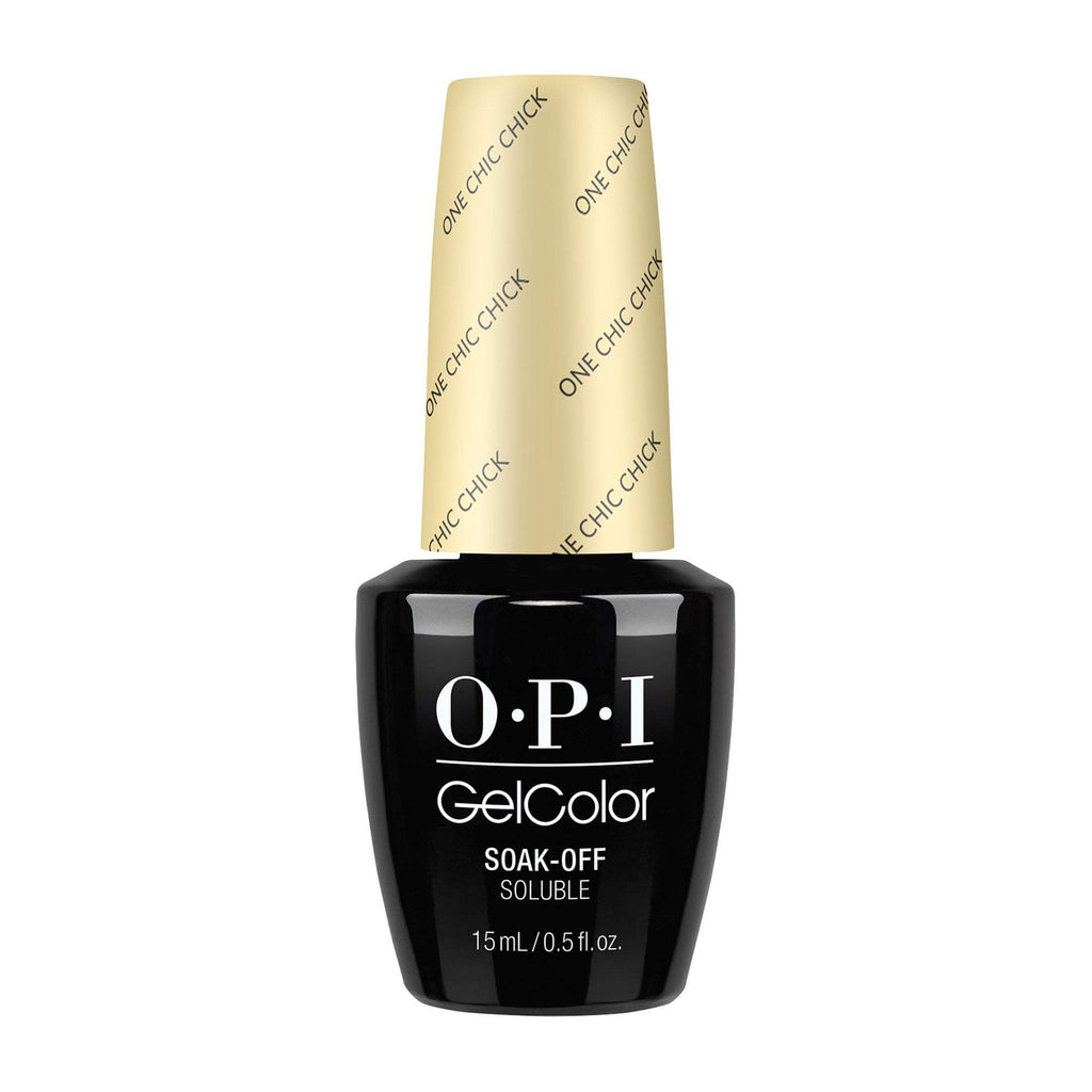 Gel Lacquer OPI One Chic Chick GelColor