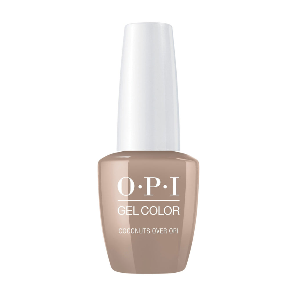 Gel Lacquer OPI Coconuts Over OPI GelColor