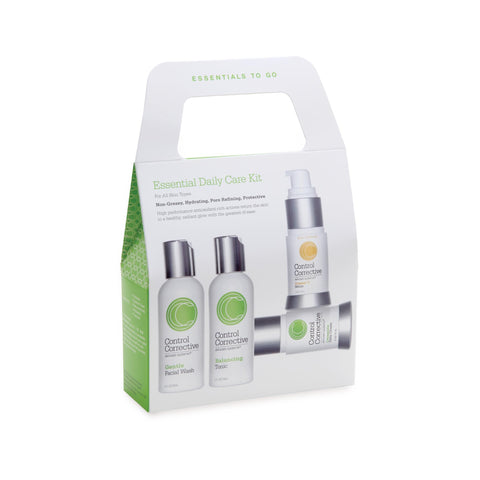 Image of Gift Sets Control Corrective Essential Daily Care Kit 3 Kits