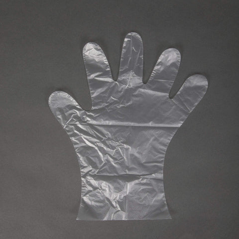Image of Disposable Poly Gloves, 100 count