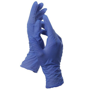 Gloves & Finger Cots Nitrile Gloves / Latex Free / Blue