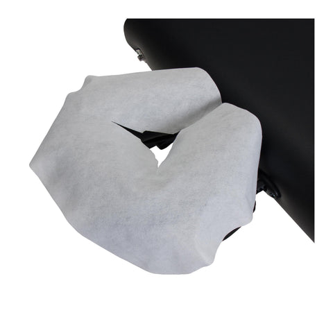 Image of Headrest, Face Cradle & Pillow Earthlite Disposable Headrest Cover - Flat - 100 Count