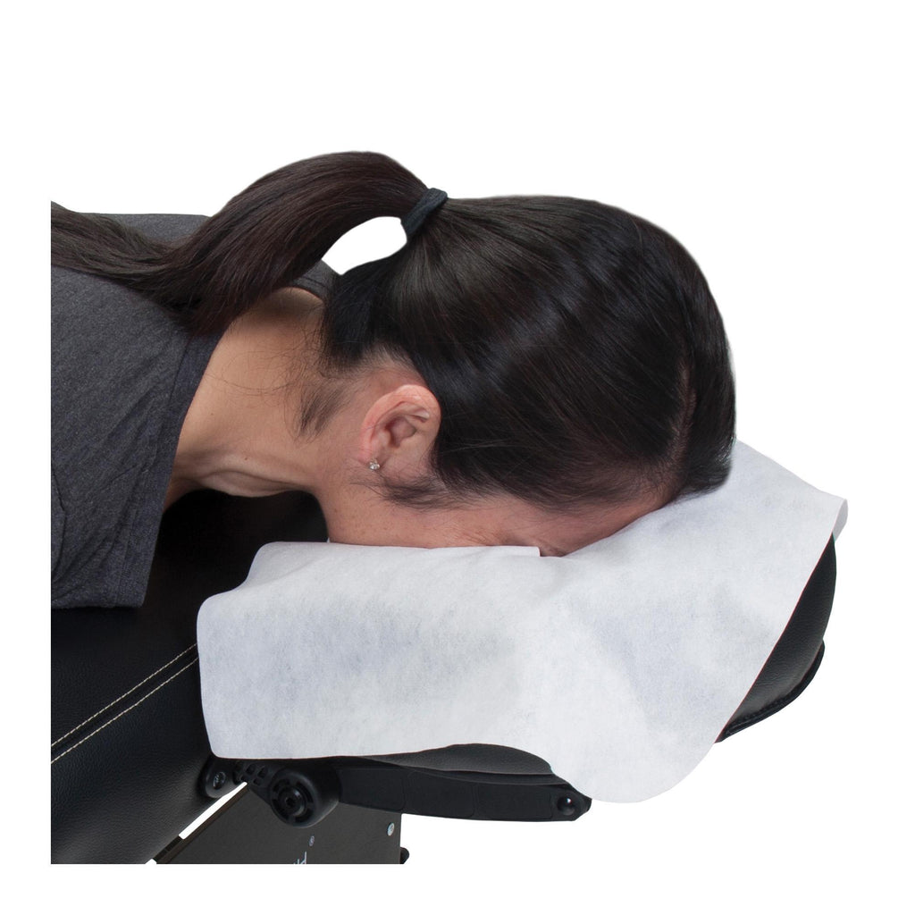 Headrest, Face Cradle & Pillow Earthlite Disposable Headrest Cover - Flat - 100 Count