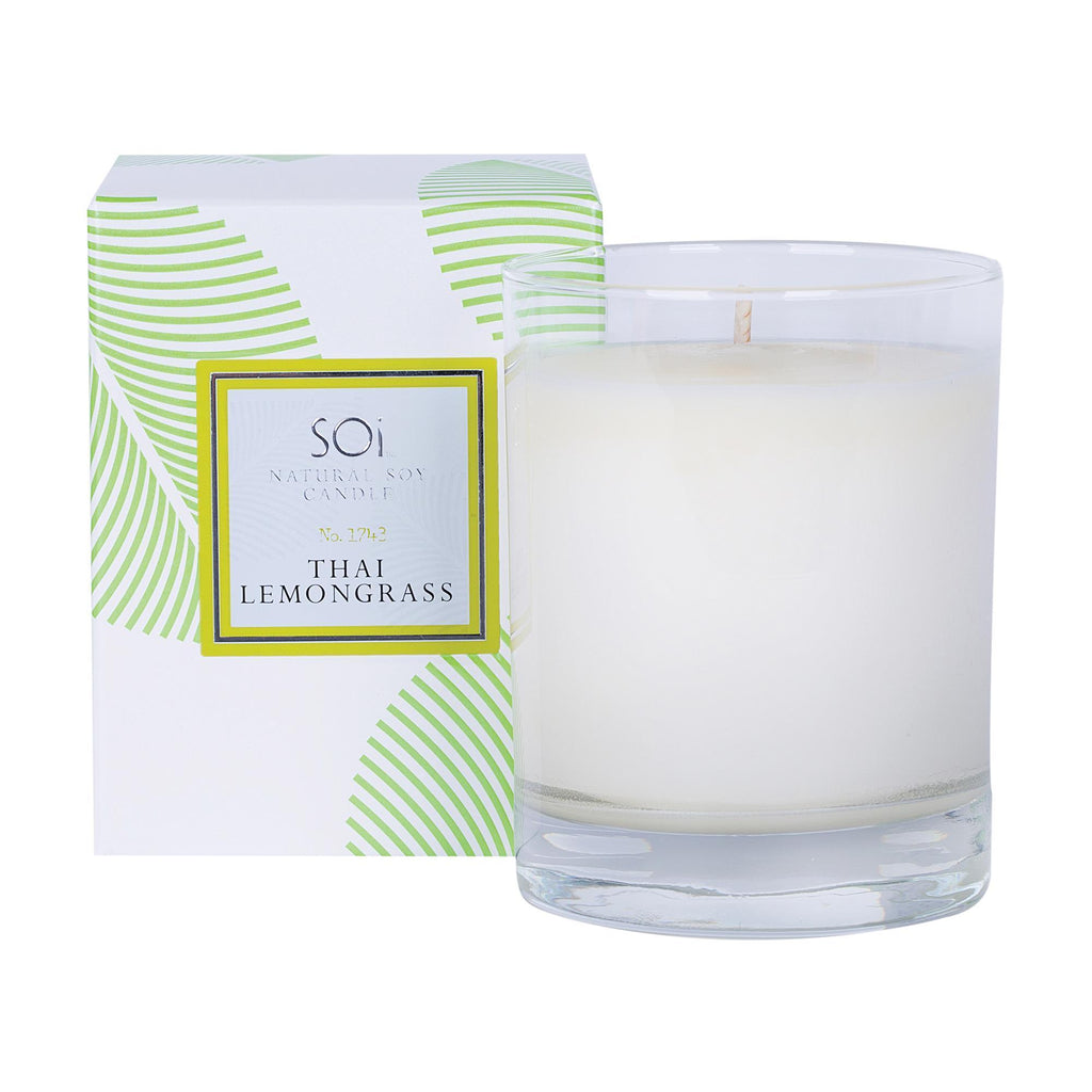 Home & Linens Soi Luxe Thai Lemongrass Boxed Candle/13.5oz