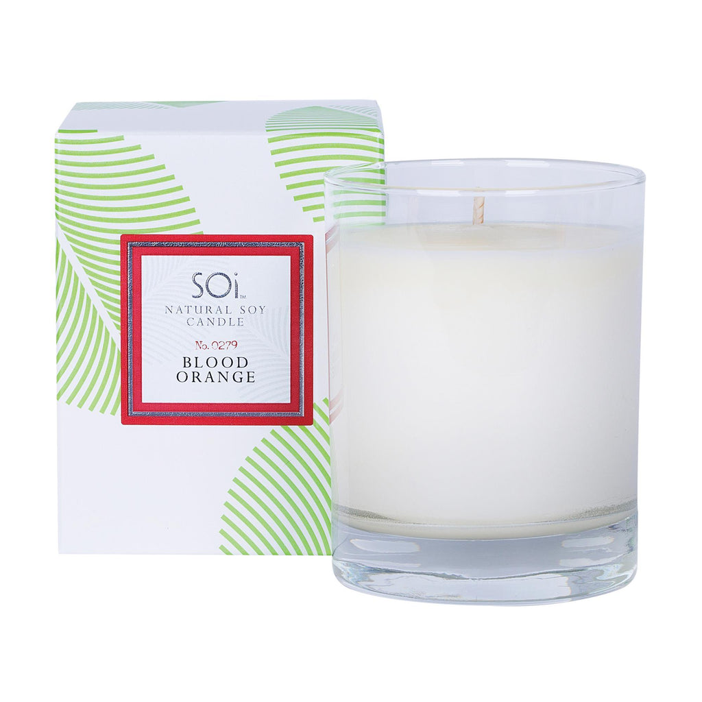 Home & Linens Soi Luxe Blood Orange Boxed Candle/13.5oz
