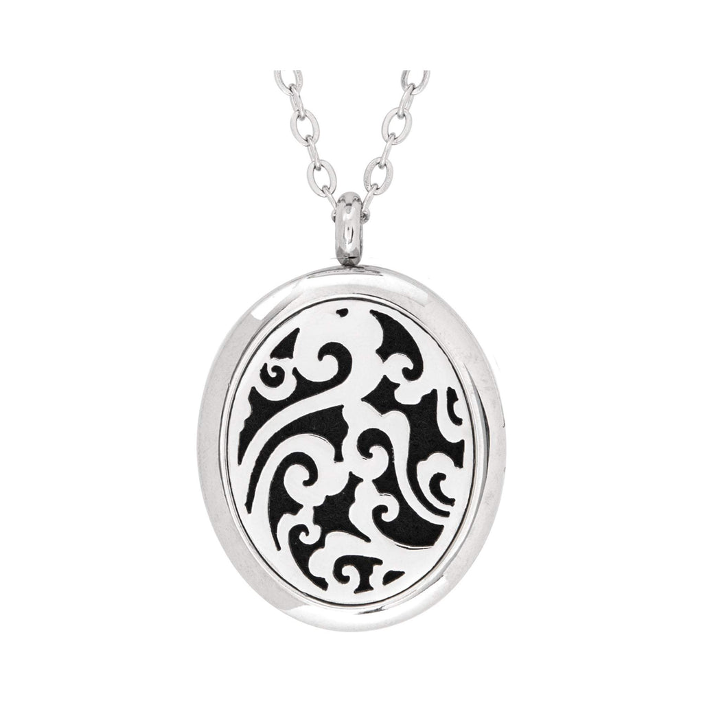 Jewelry Stainless Steel Whimsical Oval Pendant