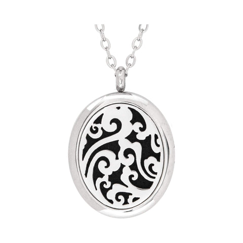 Image of Jewelry Stainless Steel Whimsical Oval Pendant