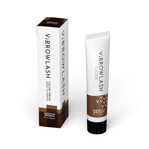 Lash & Brow Tints Medium Brown ViBrowLash Cream