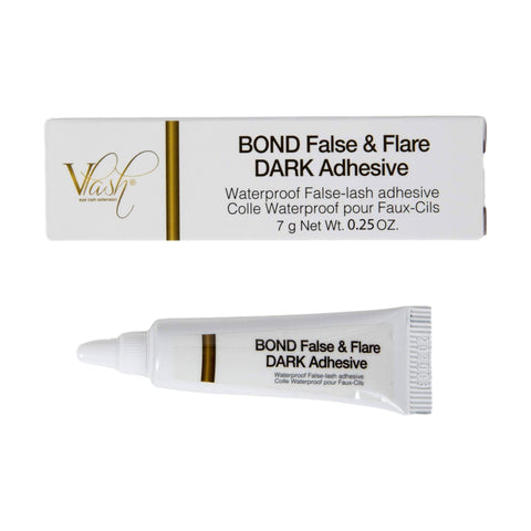 Image of Vlash Bond False & Flare Lash Dark Adhesive,7g