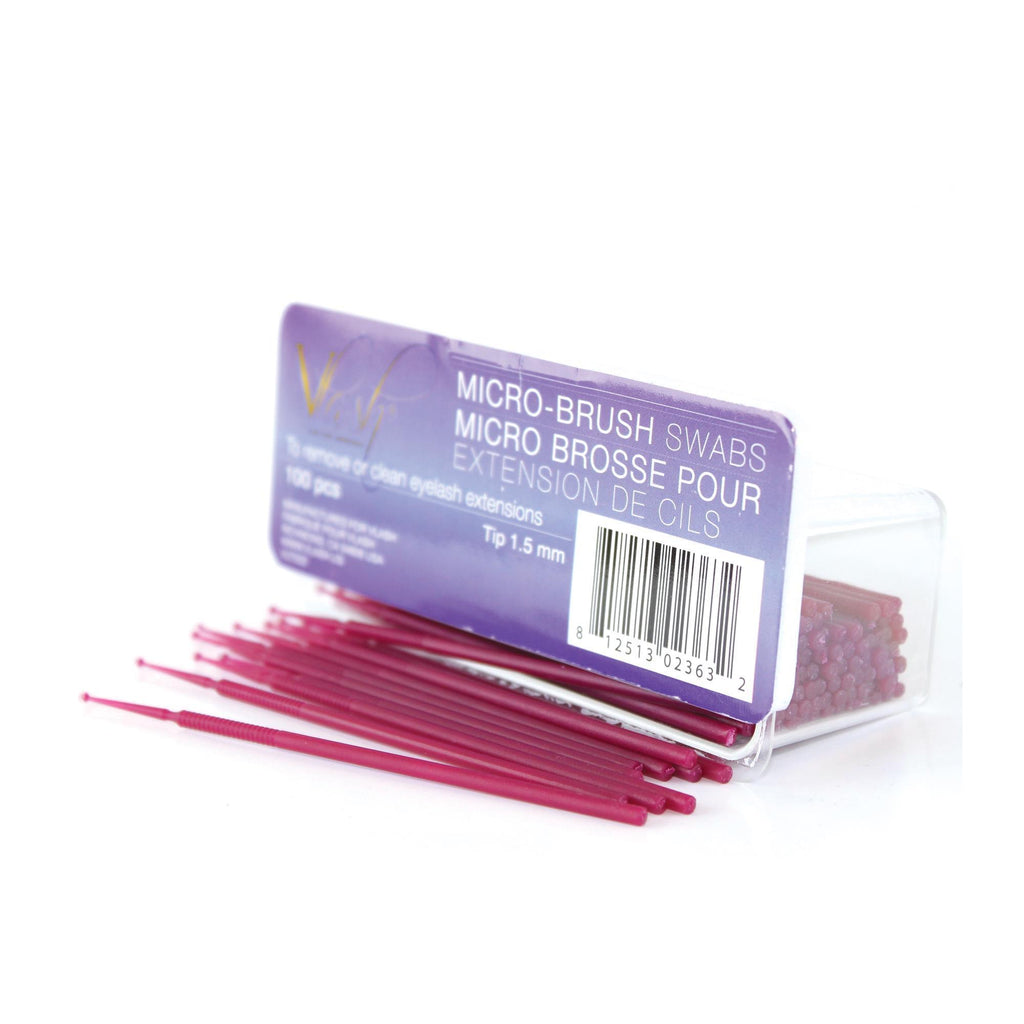 Lash Extensions, Strips, Acces VLash Microfiber Brush / 100pc