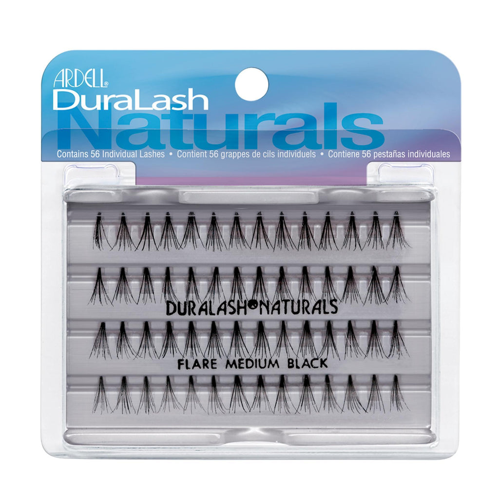 Lash Extensions, Strips, Acces Ardell DuraLash Naturals Knot-Free Individuals / Black / M