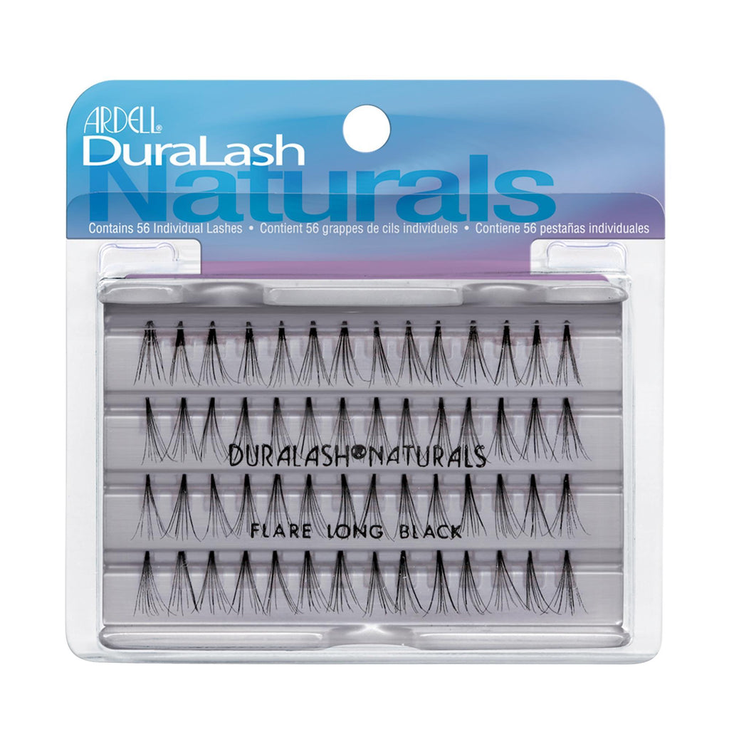 Lash Extensions, Strips, Acces Ardell DuraLash Naturals Knot-Free Individuals / Black / Long
