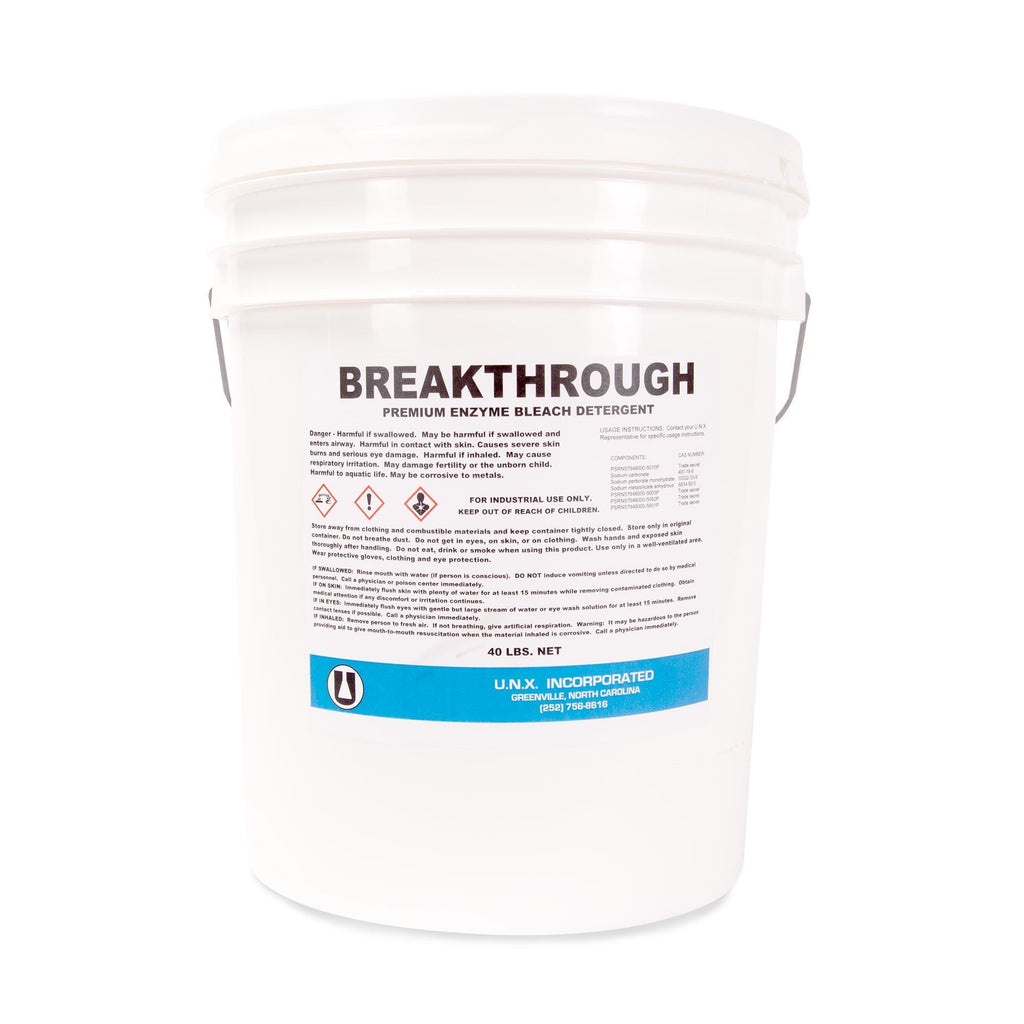 Laundry Detergent Breakthrough Detergent / 40lb