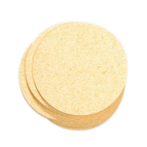 Image of Loofahs & Sponges Natural / 100 ct. Prosana Compressed Sponges