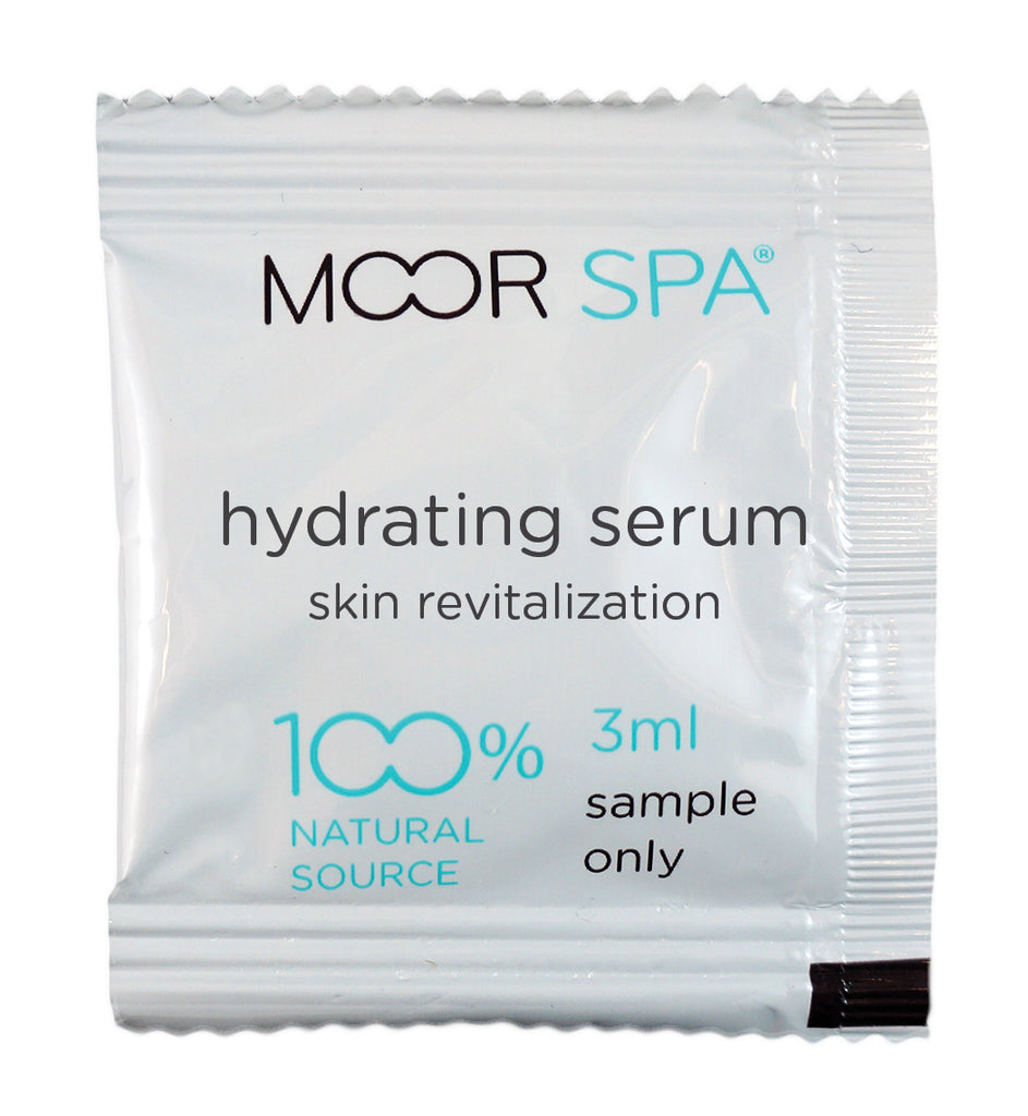 Moor Spa Hydrating Serum with Vitamin C, Hyaluronic Acid and Marine Phytoplankton