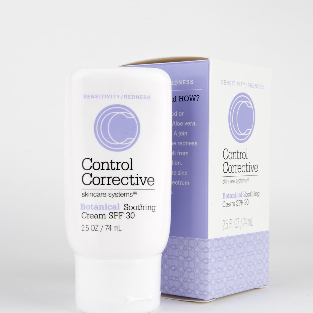 Makeup, Skin & Personal Care 2.5 oz. 3 Pack Control Corrective Botanical Soothing Cream SPF30