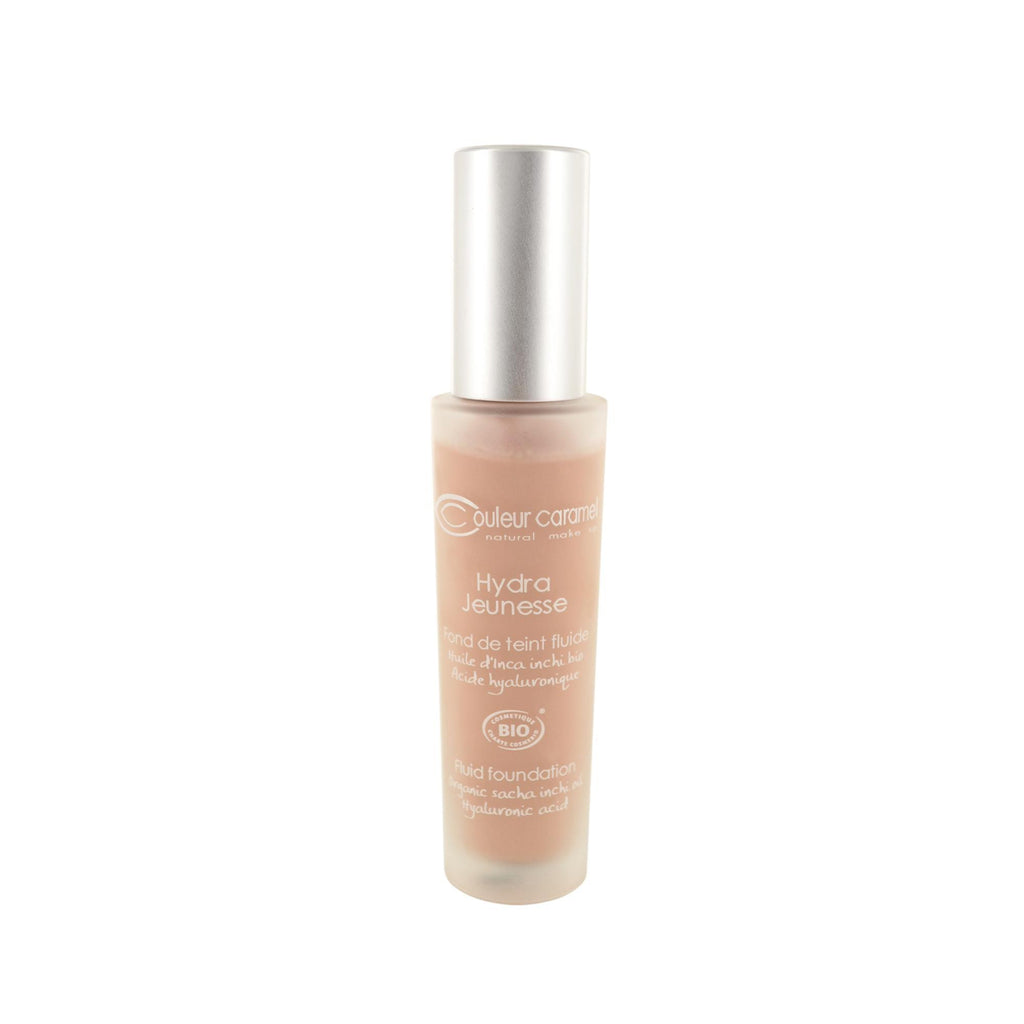 Makeup, Skin & Personal Care Couleur Caramel Hydra Jeunesse Fluid Foundation N°26 Amber Beige Bottle