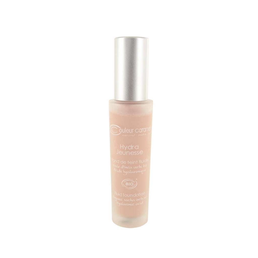 Makeup, Skin & Personal Care Couleur Caramel Hydra Jeunesse Fluid Foundation N°22 Rosy Beige Bottle