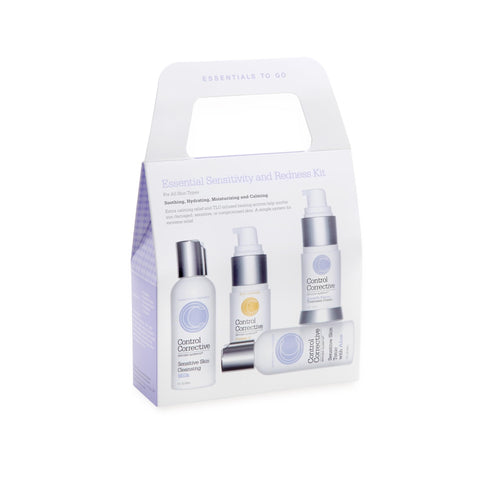Image of Makeup, Skin & Personal Care Control Corrective Essential Sensitivity  and  Redness Kit 3 Pack