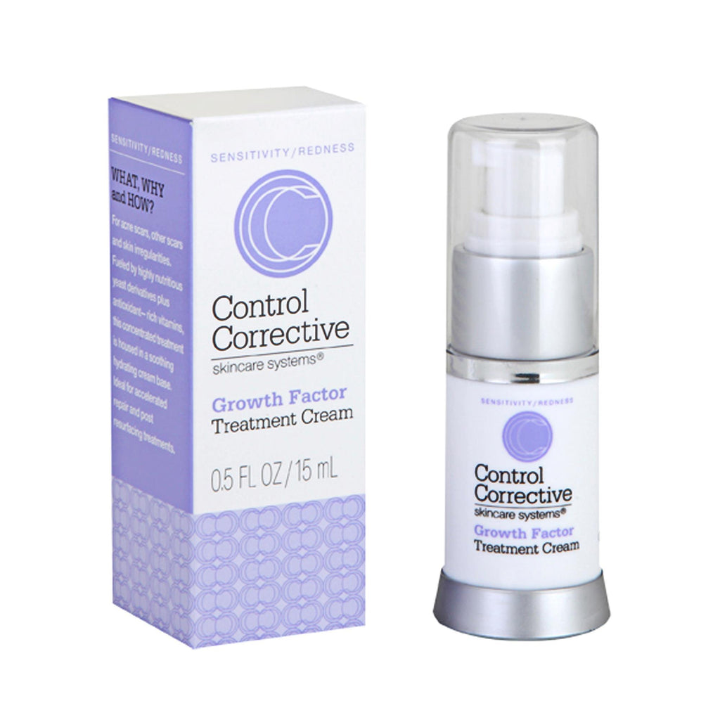Makeup, Skin & Personal Care Control Corrective Growth Factor Treatment Cream / 0.5oz 3 Pack