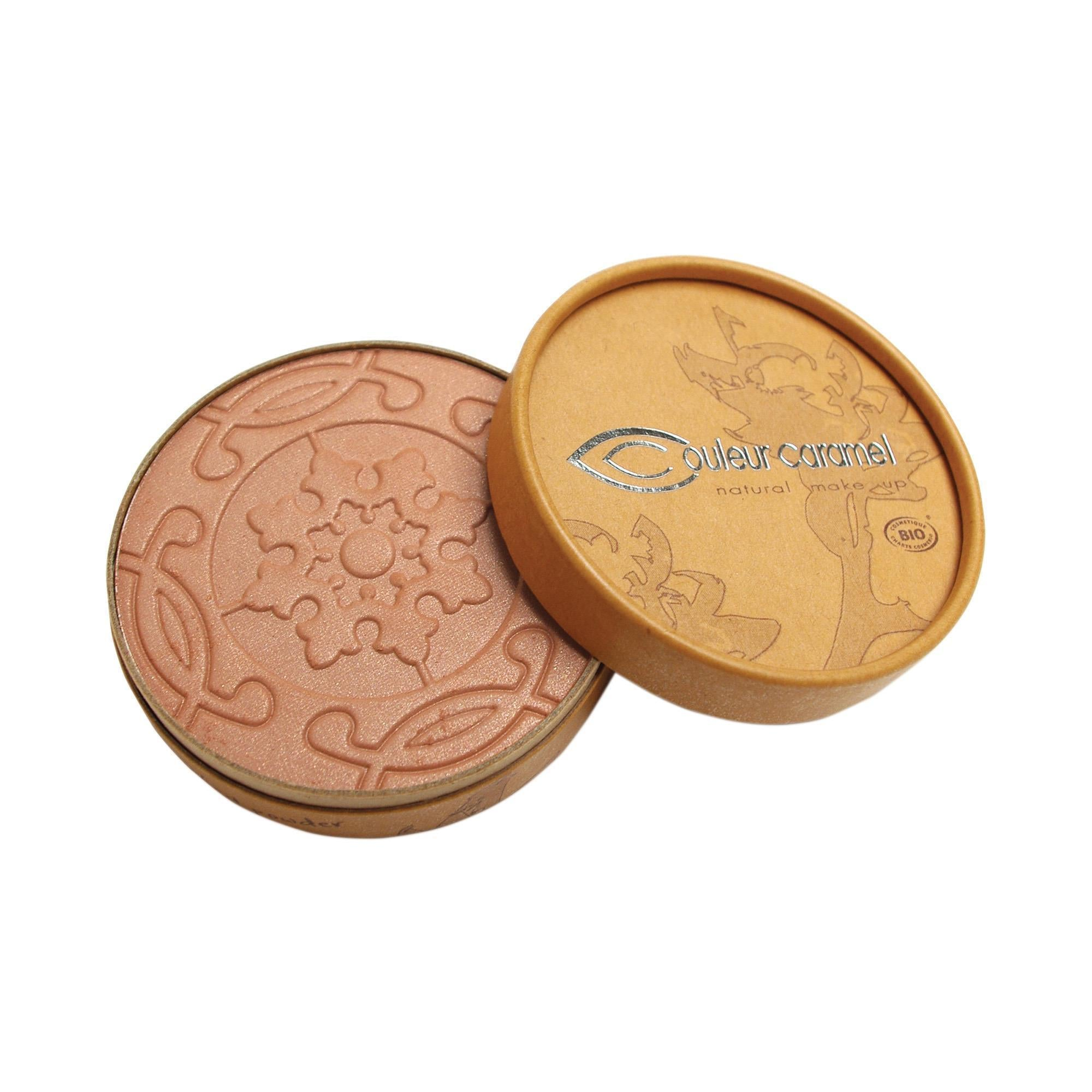 Couleur Caramel Compact Bronzer N°28 Pearly Golden image