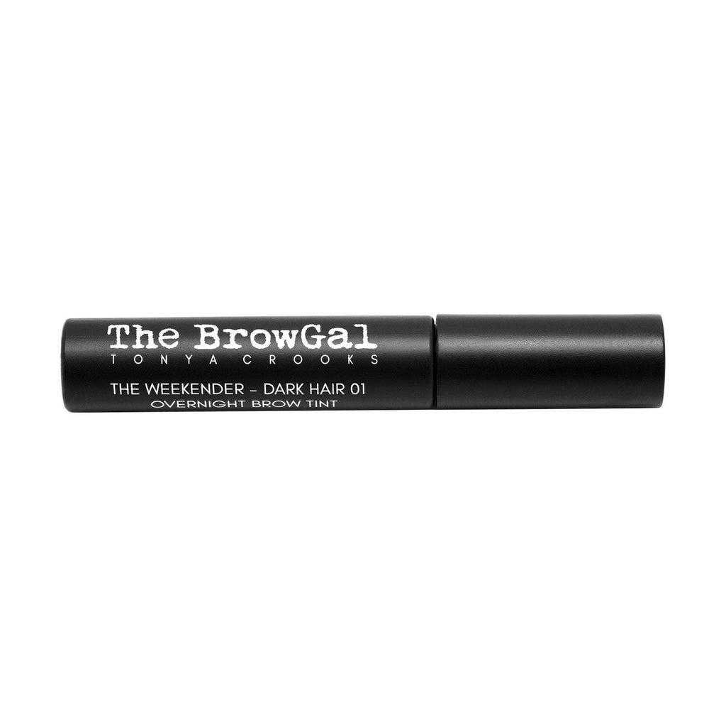 Makeup, Skin & Personal Care The BrowGal The Weekender Overnight Brow Tint, Dark Hair