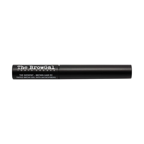 Image of Makeup, Skin & Personal Care The BrowGal Instatint Tinted Eyebrow Gel with Micro Fibers, Brown Hair