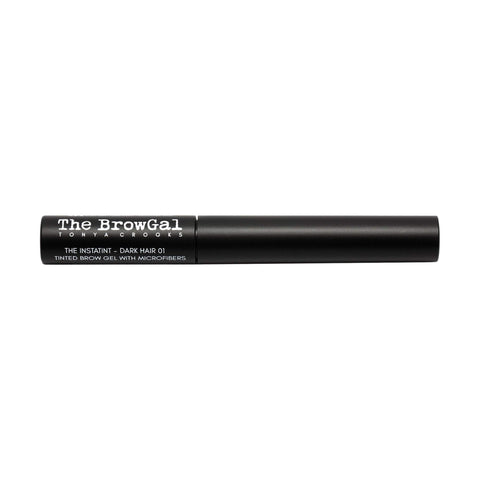 Image of Makeup, Skin & Personal Care The BrowGal Instatint Tinted Eyebrow Gel with Micro Fibers, Dark Hair