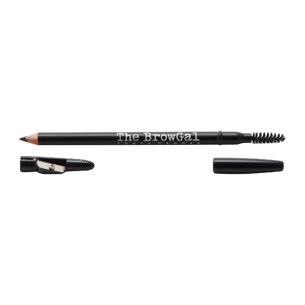 Makeup, Skin & Personal Care The BrowGal Skinny Eyebrow Pencil, Black