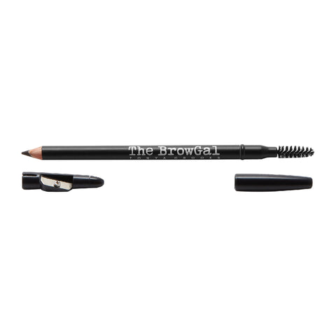 Image of Makeup, Skin & Personal Care The BrowGal Skinny Eyebrow Pencil, Black