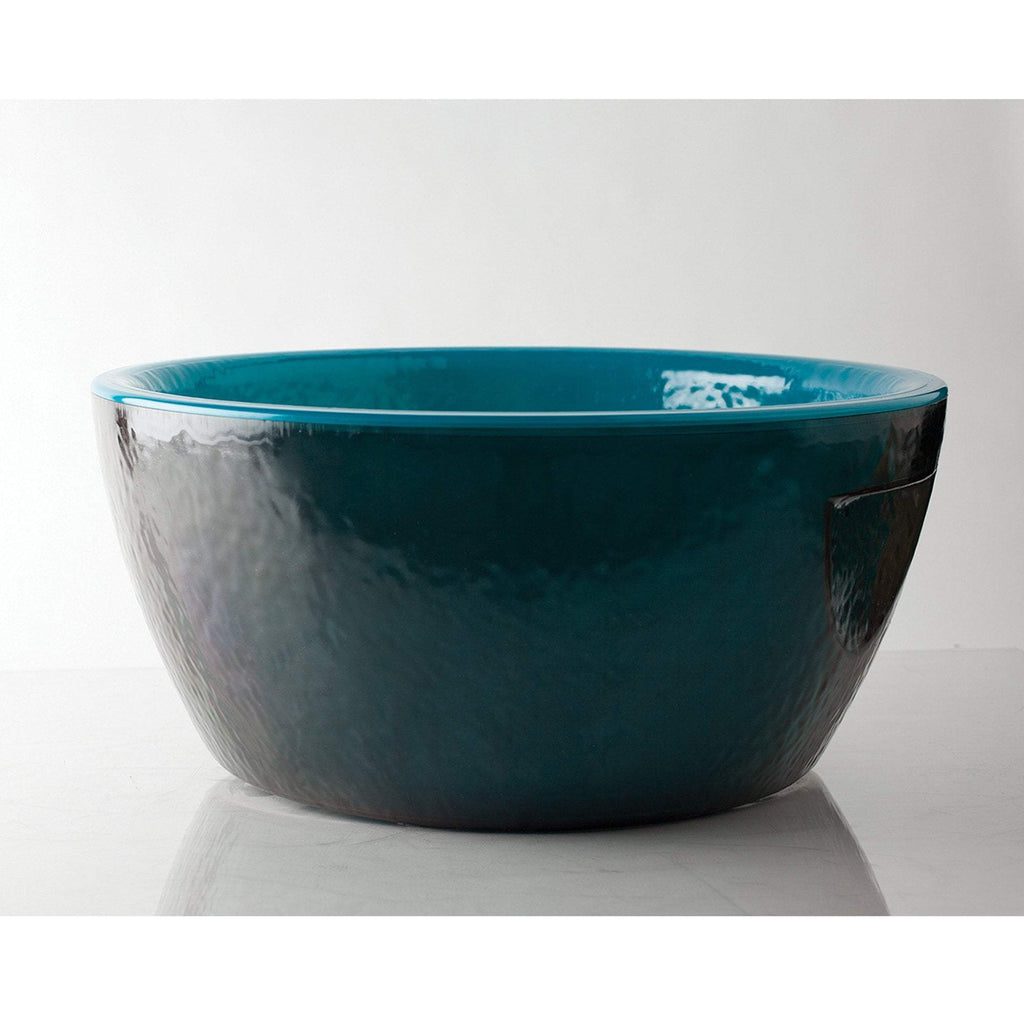 Manicure & Pedicure Bowls Noel Asmar Resin Pedicure Bowl / Round / Blue Bahamas