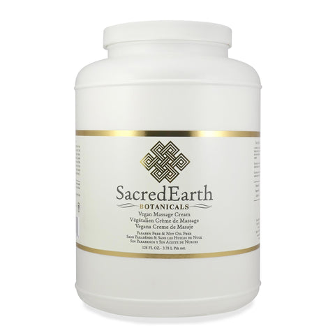Massage Creams & Butters 1 gal Sacred Earth Botanicals Vegan Massage Cream