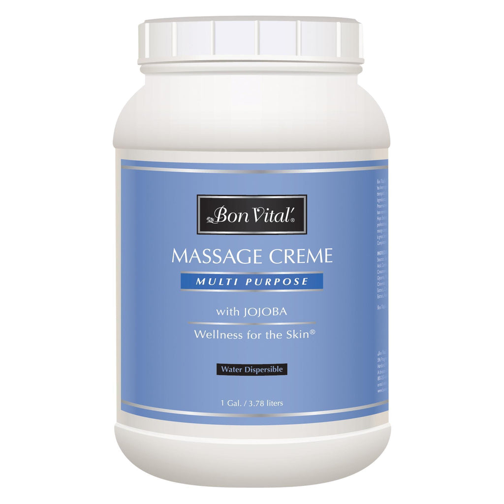 Massage Creams & Butters 128 oz Bon Vital Multi Purpose Massage Creme