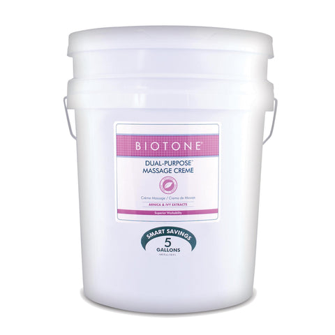 Massage Creams & Butters 5 Gal Biotone Dual Purpose Massage Crème