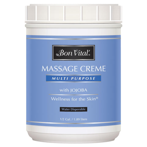Image of Massage Creams & Butters 64 oz Bon Vital Multi Purpose Massage Creme