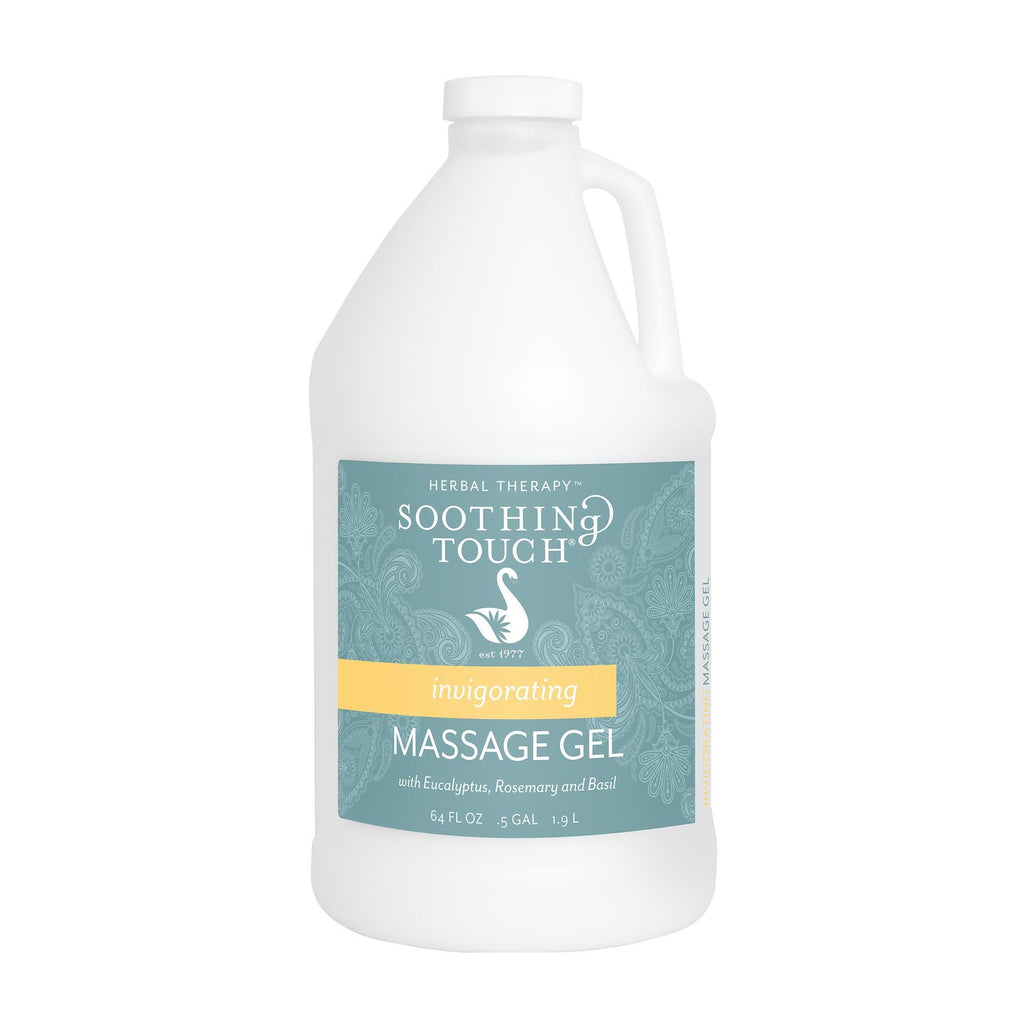 Massage Gels .5 Gallon Soothing Touch Invigorating Massage Gel