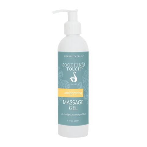 Image of Massage Gels 8oz Soothing Touch Invigorating Massage Gel