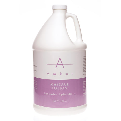 Image of Massage Lotions Lavender Aphrodisia / 1 gal. Amber Massage Lotion