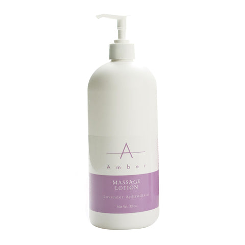 Image of Massage Lotions Lavender Aphrodisia / 32 oz. Amber Massage Lotion