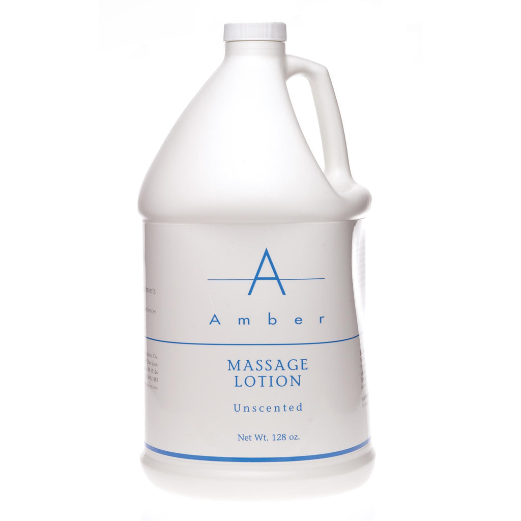 Massage Lotions Unscented / 1 gal. Amber Massage Lotion