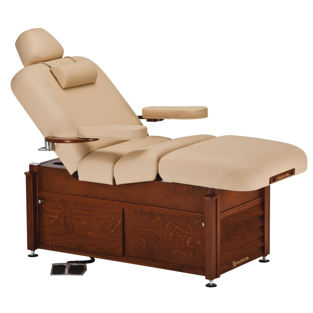 Massage Tables Living Earth Crafts Pro Salon Deluxe Classic Cabinetry