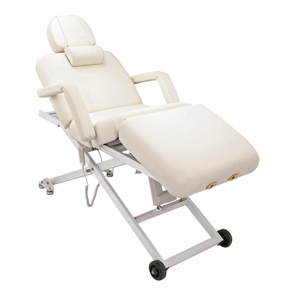 Massage Tables ComfortSoul Siena Elite Facial / Massage Table / Ivory Upholstery/Black Base ComfortSoul Siena Elite Facial / Massage Table