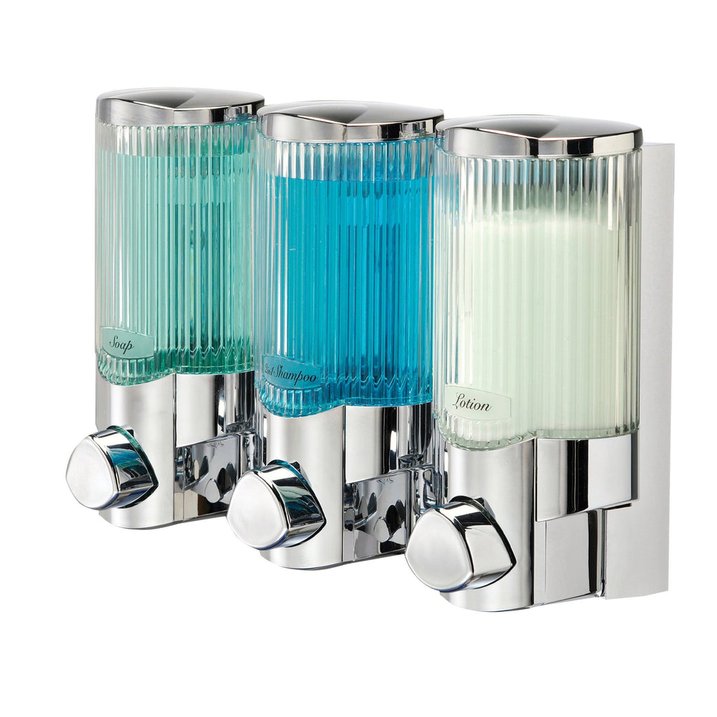 Multi-Use Dispenser Signature III Signature Chrome Dispensers