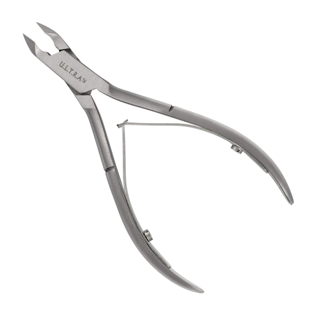 Nail Clippers, Nippers & Sciss Ultra Acrylic Nipper, Stainless Steel, 1/2 Jaw