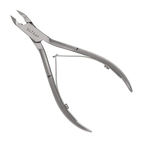 Image of Nail Clippers, Nippers & Sciss Ultra Acrylic Nipper, Stainless Steel, 1/2 Jaw