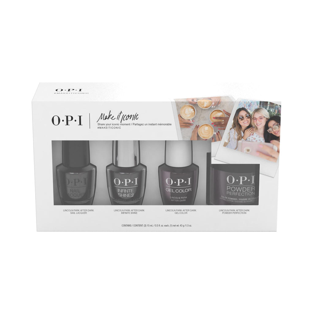 Nail Lacquer & Polish OPI Make It Iconic - Lincoln Park After Dark 4 Pack