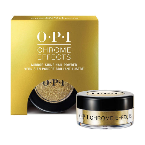 Image of Nail Lacquer & Polish OPI Chrome Effects - Gold Digger