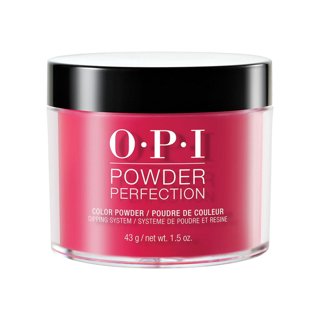 Nail Lacquer & Polish OPI, Scotland  Powder Perfection Red Heads Ahead, 1.5  oz