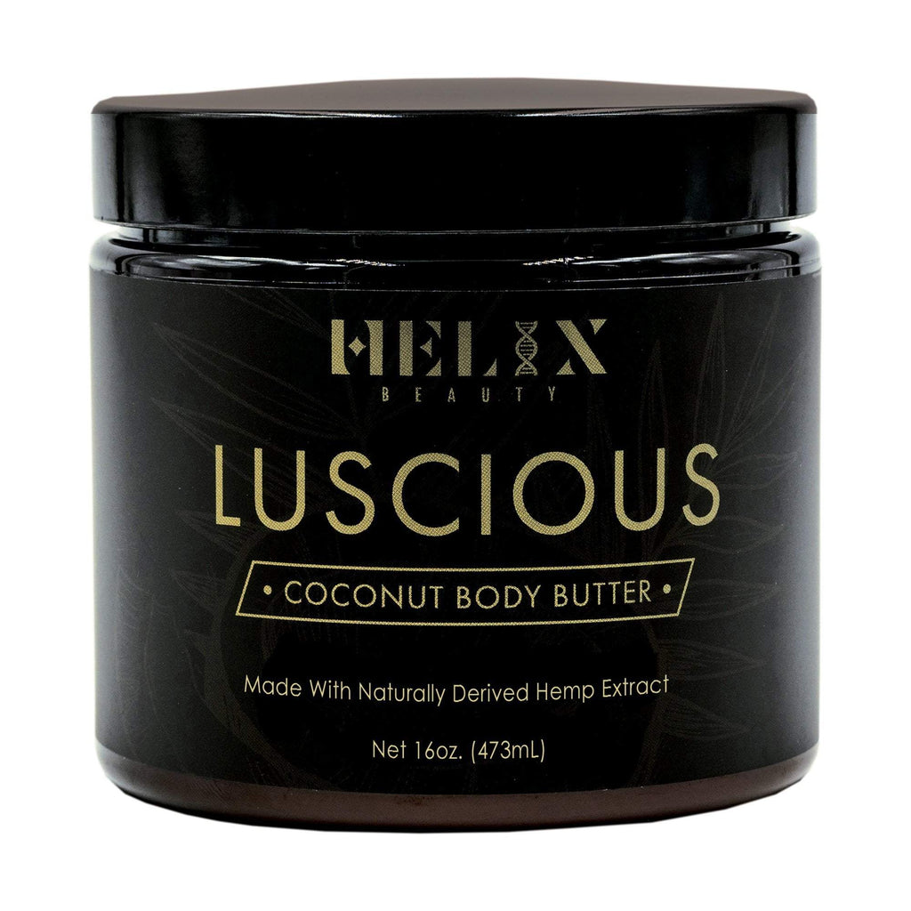 Oils, Bases & Butters Helix Beauty Luscious Coconut Body Butter 300 mg, 16 oz